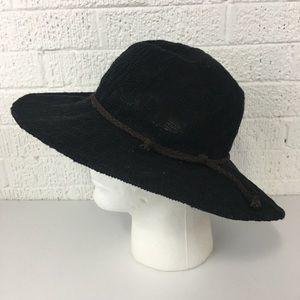 Forever 21 black wide brim hat